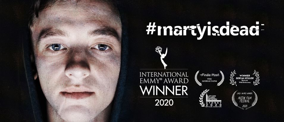 #martyisdead IS 1st CZECH EMMY WINNER